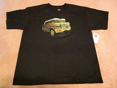 Boy's Youth DC Shoes,The Originals Black Graphic Short Sleeve T-Shirt Size XL