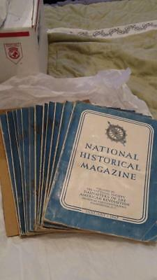 (12) 1942 DAR Daughters of the American Revolution National Historical Magazine