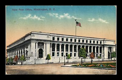 Dr Jim Stamps Us New Post Office Washington Dc View Postcard