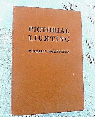 1947 PICTORIAL LIGHTING by WILLIAM MORTENSEN, Models, Nudes, Glam photography,HC