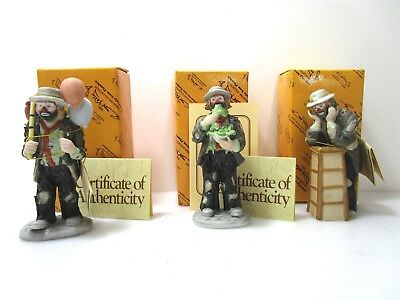 Emmett Kelly Exclusively From Flambo Clown Miniatures