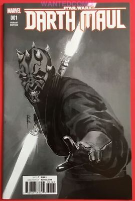 Star Wars Darth Maul #1 (Of 5) Sketch Variant Cover 1:100 Marvel Comic Book 2017
