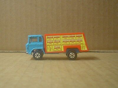 Coca Cola Die Cast and Plastic Delivery Truck ~ Blue & Red ~ Yatming ~ China