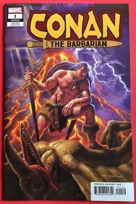 Conan The Barbarian #1 Hildebrandt Variant Cover 1:500 Marvel Comic Book 2019 Nm