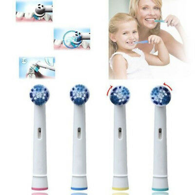 8PC For Braun Oral-B Soft Electric Toothbrush Bristle Replacement Head Oral Care