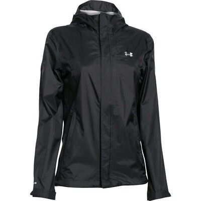 ADIDAS CLIMAPROOF STORM Women's Black Full Zip Hiking Hooded ...