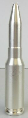 Solid Pure Silver .999 25 Oz In The Shape Of A Cannon Shell/Bullet/Cartridge