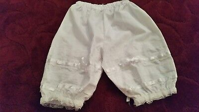 Folklorico dress dance Bloomers lace shorts sz 4 to 6