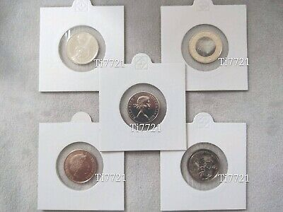 5c Coin 2019Young Effigy& Moon Landing 2017Planetary Mercury 2016Changeover2018