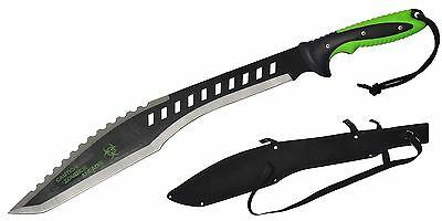 Bio-Hazard Bent Tip Machete