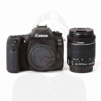 Autentico Canon EOS 80D Digital SLR Camera + 18-55mm f/3.5-5.6 IS STM Lens