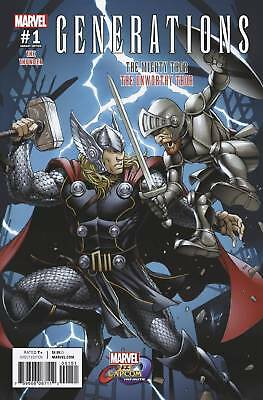 Generations Mighty Thor #1 Marvel Vs Capcom 1:25 Variant Nm Bagged And Boarded