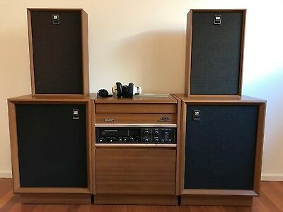 Vintage 1974 Sharp Optonica 4 Channel Stereo