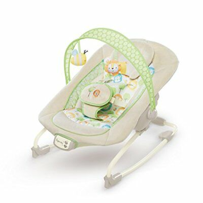 Ingenuity 10249 Rock and Soothe Rocker  Babywippe - Sunny Snuggles mit Musik Ver