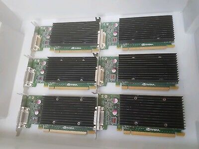 Job Lot Of 6 X Nvidia Quadro Nvs 300 Graphics Card (Hh) Low Profile Gra16