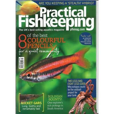 Practical Fishkeeping Magazine March 2019 Issue 3 PFK Mag Rocket Gars Pencilfish