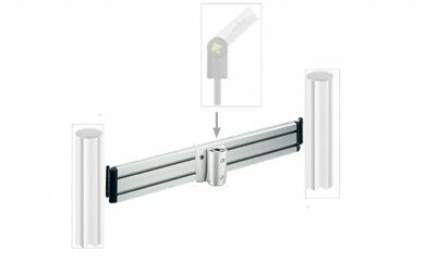 YELLOWTEC YT3291  -  WALL 100cm horizontal bar
