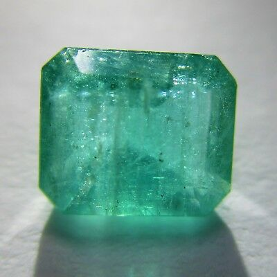 1,14 Carats Emeraude de Colombie 100% naturelle non traitée