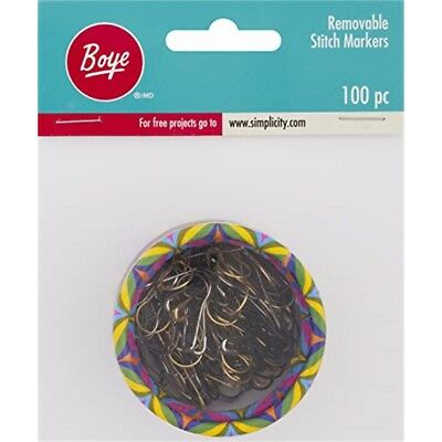Boye Removable Stitch Markers And Storage Container