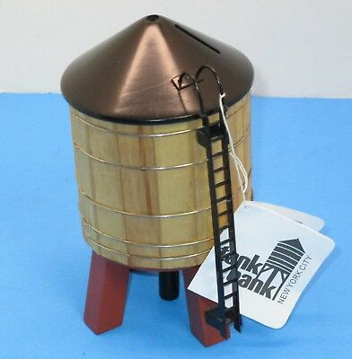 New York City Water Tower Tank Bank Souvenir~New With Tags~