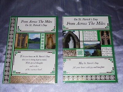 St Patricks Day Card Across The Miles Traditional Photo Church Saint Irish March