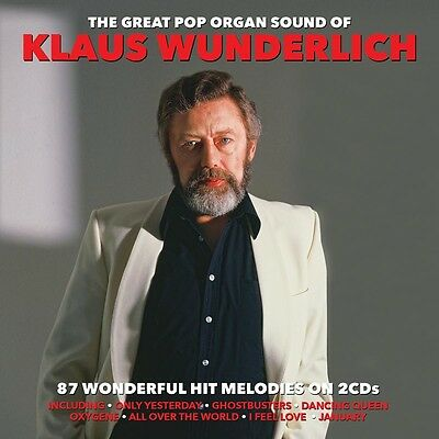 Klaus Wunderlich - The Great Pop Organ Sound Of 2CD NEW/SEALED