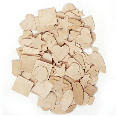 Pacon Corporation - Wooden Shapes 350 Pieces