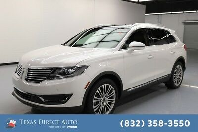 2016 Lincoln MKX Reserve Texas Direct Auto 2016 Reserve Used 3.7L V6 24V Automatic FWD SUV