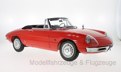 WB8001	Alfa Romeo 1600 Duetto Spider, rot, ca 52cm lang,, 1:8 Whitebox