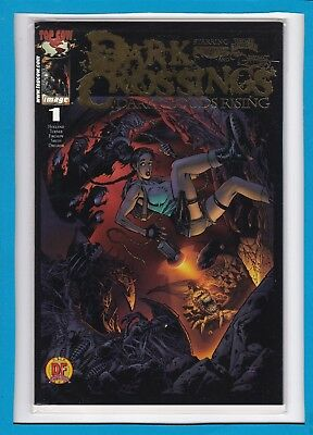 Dark Crossings #1_Nm_Witchblade/tomb Raider_Dynamic Forces Exclusive Foil Cvr!