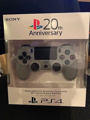 SONY PlayStation DUALSHOCK 4 Wireless Controller PS4 (20th Anniversary Edition)