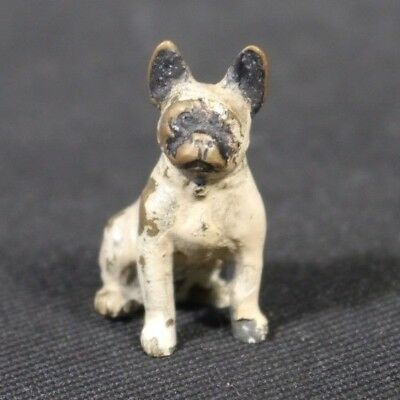 Antique Cold Painted AUSTRIAN Vienna Bronze FRENCH BULLDOG Dog VERY CUTE