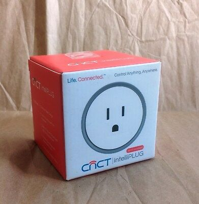 New CNCT intelliPLUG WiFi Electronic Device Home Office Smart Plug Alexa Google