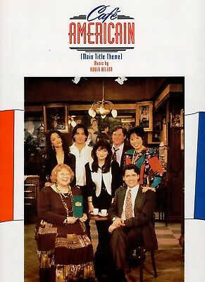 TV series CAFÉ AMERICAIN sheet music (1994) VALERIE BERTINELLI