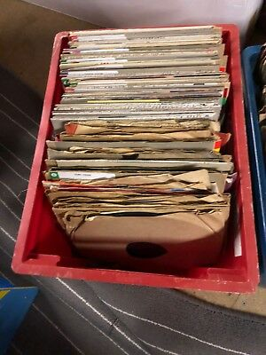 78 rpm records, total of 345. Joblot of 3 boxes