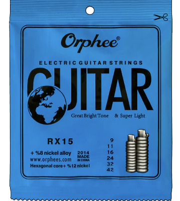 4 Sets  Electric guitar strings 0.09 + 40 Picks + Free delivery