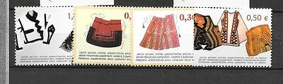 KOSOVO Sc 22-25 NH issue of 2004 - COSTUMES