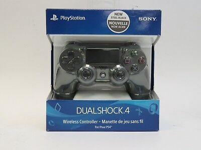 Sony PS4 PlayStation 4 DualShock 4 Wireless Controller - Steel Black