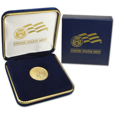 2019 American Gold Eagle 1/4 oz $10 - BU coin in U.S. Mint Gift Box