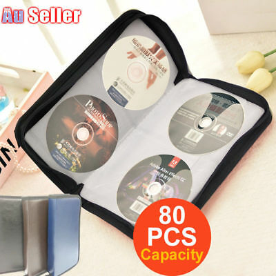 Portable Holder Bags Wallet PU Leather  Cases CD DVD Storage Discs Capacity