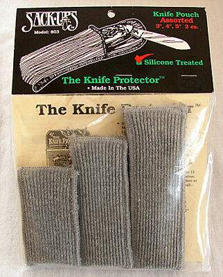 6 Sack-Ups Knife Protector Pouches   #803