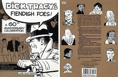 Dick Tracy's Fiendish Foes A 60th Anniversary Celebration - Softcover 1st PRINT