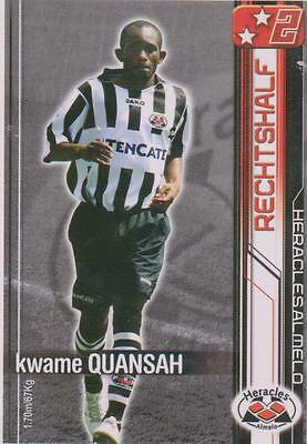 All Stars TCG 2007/2008 Trading Card Kwame Quansah Heracles Almelo