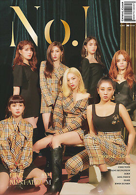 CLC - No.1 (8th Mini Album) CD+Booklet+1Photocard+Folded Poster+Tracking no.