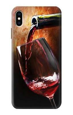 S2396 Red Wine Bottle And Glass Case for IPHONE Samsung Smartphone ETC