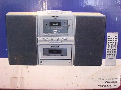 Cassette Player Micro System.NEW in BOX, Cassette Player,DVD,CD, AM FM RADIO