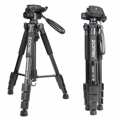 "55"" Professional Aluminum Travel Tripod Panhead compact For Nikon DSLR Camera"
