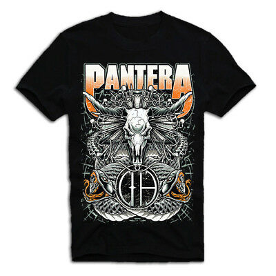 Vintage Pantera T Shirt Black men M L 234XL A159
