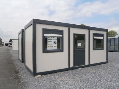 CONTAINER, BÜROCONTAINER, Wohncontainer, Baucontainer 15 m²