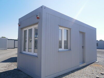 WC Container, BÜROCONTAINER, CONTAINER, Wohncontainer, 45 m²